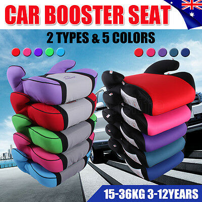New Sturdy Car Booster Seat Safe Safety Kid Baby Child Children for 3-12 Years