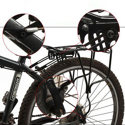 Porte-bagages Luggage Selle Panier Arriere Support Bicyclette Bike Vélo VTT 50Kg