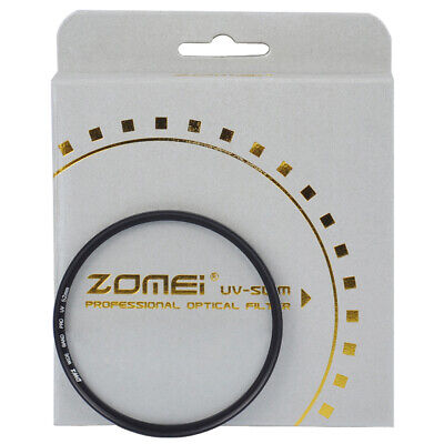 ZOMEI 52/58/62/67/72/77mm Slim UV Filter Ultra-Violet For Canon Nikon Camera Len