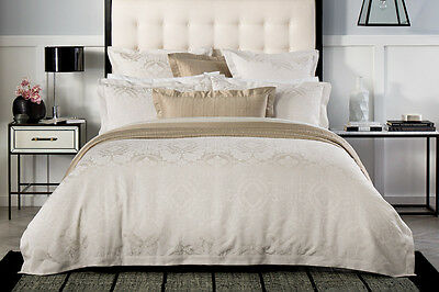 NEW Sheridan Visconti Quilt Cover Set - Chalk