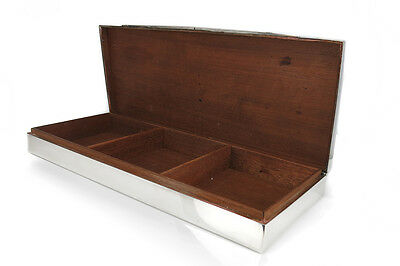 Schatulle 925 Silber Holz [BRORS 14427]