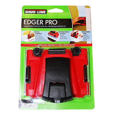 Shur Line Pro Edger Eliminates Taping Trimming Project Quality DIY Material Tool