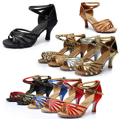 5/7cm Women Soft Heels Dancing Professional Shoes For Ballroom Salsa Tango Latin