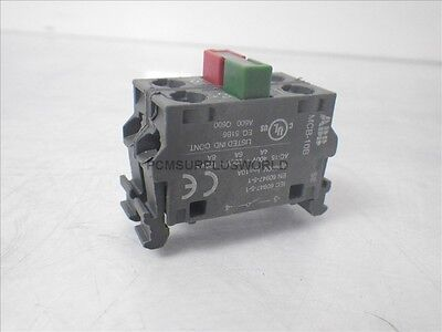MCB-01B / MCB-10B ABB push button contact block (Used and Tested)