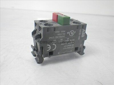 MCB-01B / MCB-10B Allen Bradley push button contact block (Used and Tested)