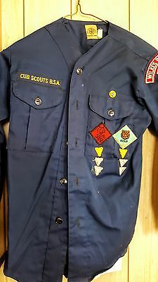 Boys WEEBLO UNFORM 60's PACK 33 Wilkes-Barre, PA CUB SCOUTS OF AMERICA