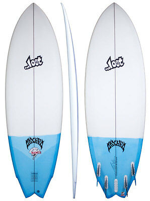 Lost Round Nose Fish Redux Shortboard - 6'0