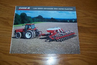 CASE-IH 1200 SERIES  ADVANCED  SEED  METER  PLANTERS 2005 Literature