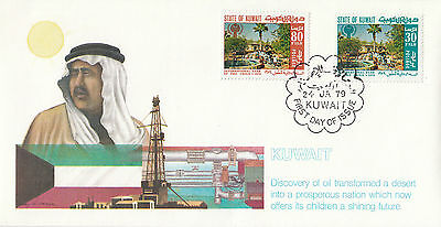 F 500 Kuwait First Day Cover 24 January 1979 International Year of the Child.