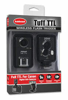 Hahnel Tuff TTL Wireless Flash Trigger Canon Digital SLR Cameras,BNIB,SBD, (V)