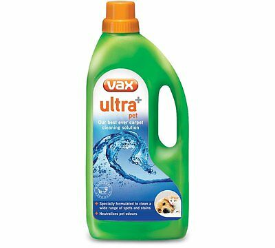 Vax Ultra+ Pet Carpet Cleaning Solution 1.5 Litre
