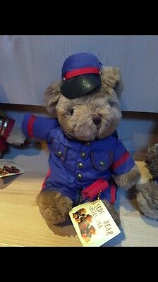 The Teddy Bear Collection. Steve The Stationmaster. 52