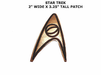 Star Trek Science Logo Embroidery Iron On Patch Badge