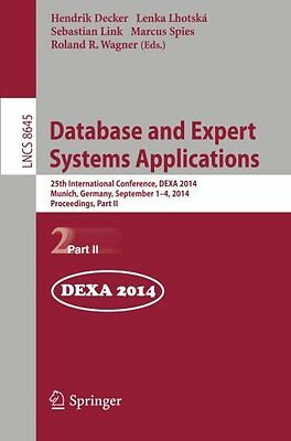 Database and Expert Systems Applications: 25th International Conference,...
