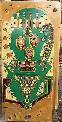 Bally Eight Ball pinball Playfield. Cool Vintage artwork or restoration!