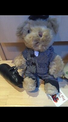 The Teddy Bear Collection. Gino The Gangster. Soft Toy. Number 62
