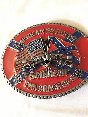 American Confederate Belt Buckle not used