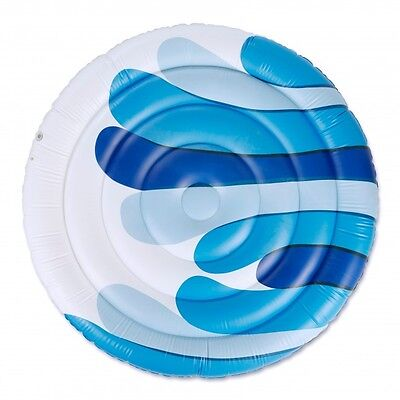 Marimekko Inflatable Floating Lounger Raft Albatrossi Blue White 2 Person 12+