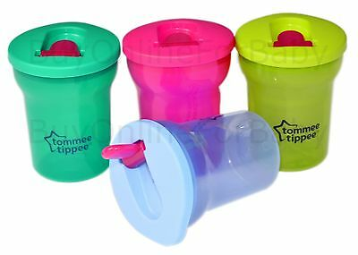 1x Tommee Tippee Essentials  First Baby Drinking Cup Beaker 200ml 4m+