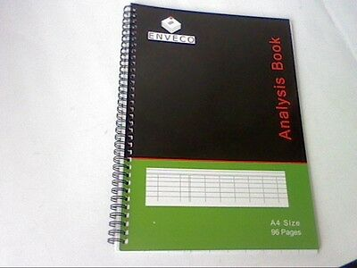 1 x A4 96 page 7 CASH COLUMN ANALYSIS ACCOUNTS BOOK-BOOKKEEPING-see picture