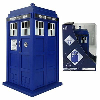 Doctor Who Tardis Bluetooth Enabled with Speaker Microphone FX Official