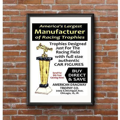 American Dragway Trophy Company Poster