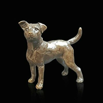 Jack Russell, Detailed Solid Bronze Miniature By Butler and Peach,Richard Cooper
