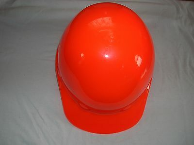 Fibre-Metal #E-2RW Florescent Orange Hard Hat with Ratchet Suspension