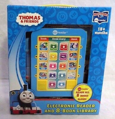 Thomas and Friends Electronic Me Reader and 8-Book Library New