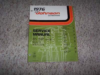 CLYMER 1973-1990 EVINRUDE Johnson 48-235hp Outboard Repair