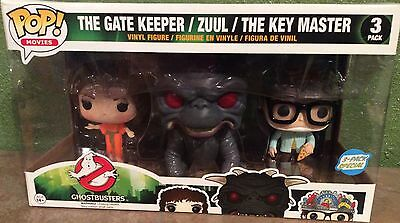 FUNKO The Gate Keeper / ZUUL / The Key Master GhostBusters 3 Pack Figure Set NEW