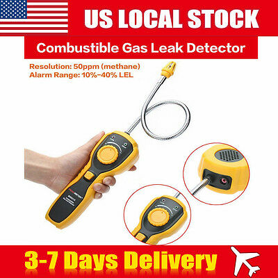 Combustible Gas Leak Detector Natural Gas Methane alcohol Analyzer Detector