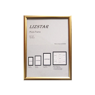 GOLD A3 LIZ STAR Cranbrook Range Picture Photo Poster Frames Fitted With Glass