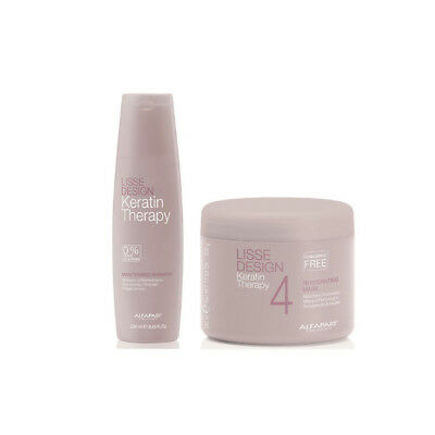 Alfaparf Lisse Design Keratin Therapy Treatment Duo