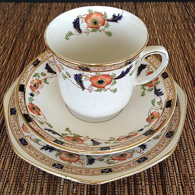 Thomas Forester + Sons Vintage Phoenix Ware Cup+ Saucer Trio X 6