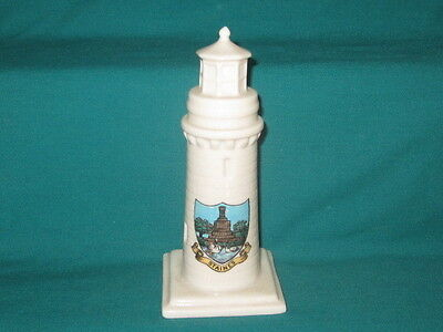 Goss China Teignmouth Lighthouse - STAINES crest