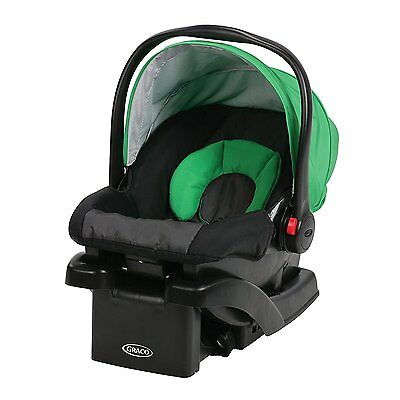 Graco Snug Ride Click Connect 30 Front Adjust Baby Infant Car Seat 4-30 lbs Fern