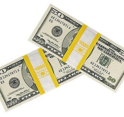 PM Company SecurIT $1000 Kraft Currrency Bands 1.25 x 7.62 Inch... Free Shipping