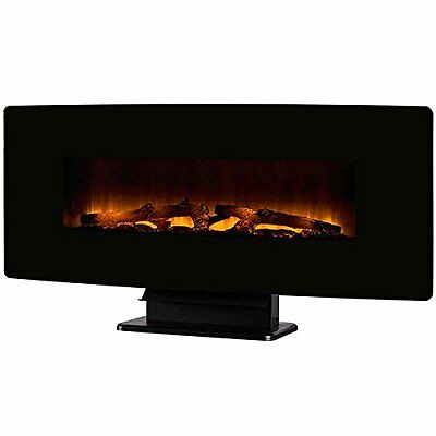 Muskoka Curved Wall Mount 42 Electric Fireplace - Seven Flame Options