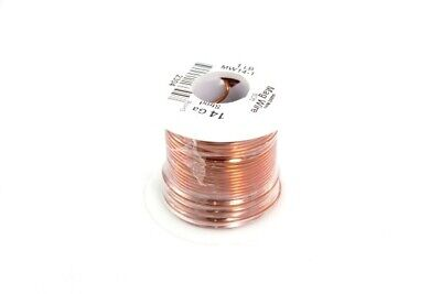 14 GA Plain Enameled Buss Magnet Wire, 80ft, 1 lb