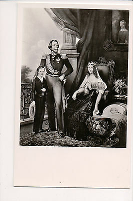 Modern Postcard King William III & Queen Sophie of the Netherlands