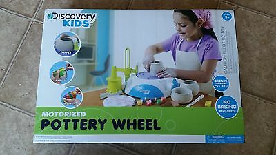 Discovery Kids Motorized Pottery Wheel NEW
