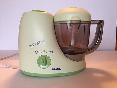 Beaba Babycook Classic Baby Food Processor Steamer Blender Cooker Cook Green
