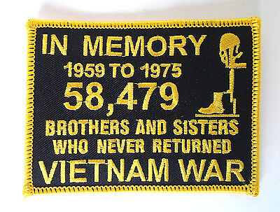 In Memory Of Vietnam Hero Brothers And Sisters 1959 To 1975 Red On Black JL053B