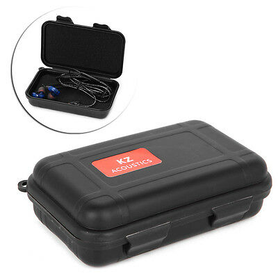 KZ Earphone Storage Box Portable Compression Resistance Hard Case Protective new