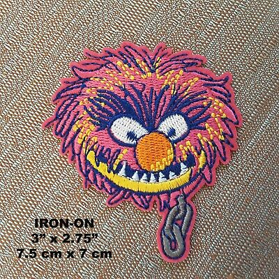Monster Inc Disney Iron-on Cartoon Embroidery Patch Kids Applique
