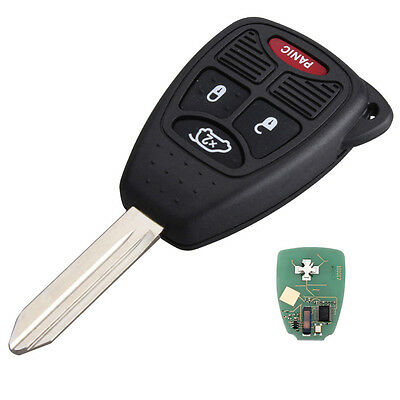 NEW Keyless Entry Uncut Key Fob Remote For 2005 Jeep Grand Cherokee DiaProgram F