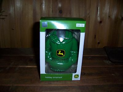 John Deere Holiday Ornament Collectible New Christmas Tree Decor Farm Country