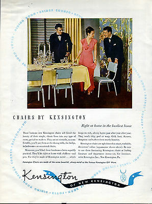 1947  Kensington Chairs ad -In the Loveliests Homes ---t453