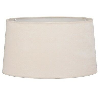 Mix n Match LAMP SHADE Replacement Tapered Drum LINEN TAUPE, LARGE 44x24cm